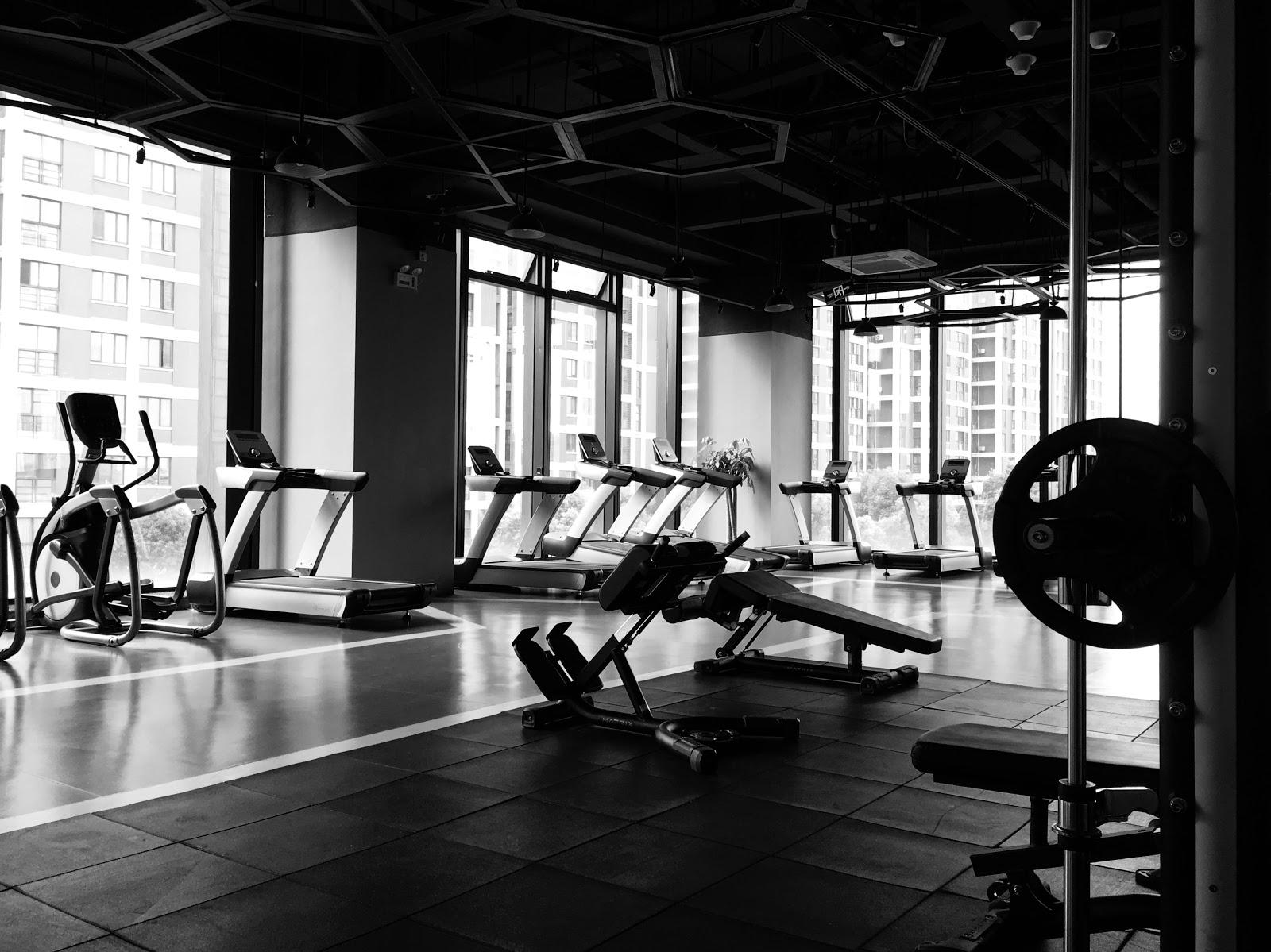 Australian Franchise: gym interior